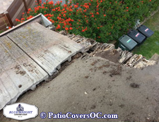 Termite Repair can be avoided by correcting roof leaks.